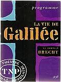 Image de La vie de Galilée : programme du théâtre national populaire
