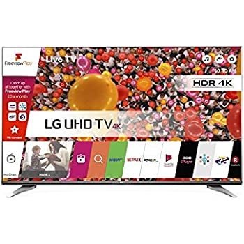 LG 65UH661V 65 inch Ultra HD 4K Smart TV webOS (2016 Model) - Carbon Titan