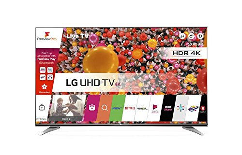 LG 49UH750V 49 inch Ultra HD 4K Smart TV webOS (2016 Model) - Grey