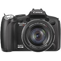 Canon Powershot Sx1 Is - Fotocamera Digitale - Compatta - 10.0 Mpix - Zoom Ottico: 20 X - Memoria Supportata: Mmc, Sd, Scheda Di Memoria Sdhc, Mmcplus