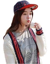 Autek cap Peach coeur prune poker à plat le long de la casquette de baseball hip-hop (574)