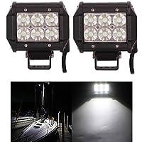 2PCS 4 pollice 18W Luce LED lavoro per automobile carrello