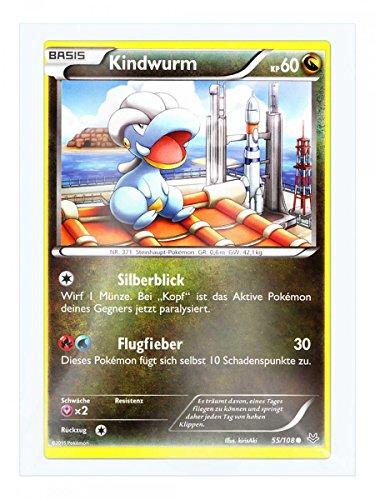 Preisvergleich Produktbild XY06_DE_055 Kindwurm im Set mit original Gwindi Kartenschutzhülle