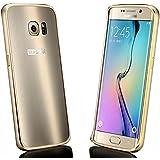 Vandot 2in1 Housse Etui Exclusif Matte Luxe Ultra Thin Skin Couverture pour Samsung Galaxy S7 Edge G935F / G935FD Coque Détachables Case ( Pratique en Cadre Alliage d'aluminium en Métal Bumper + Disque PC Back Cover) - Refroidir Gradient OR