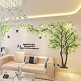 Colorfulworld Giant Tree Wandaufkleber Wall Stickers 3D Baum Wandaufkleber Art Home Decals for Room Decoration DIY Wall