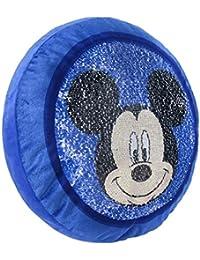Cerdá Cojin Premium Mickey, Calentadores para Niños, (Azul 3), One Size (Tamaño del Fabricante:única)