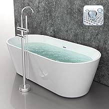 Suchergebnis auf Amazon.de für: Badewanne Freistehend Günstig | {Freistehende badewanne maße 95}