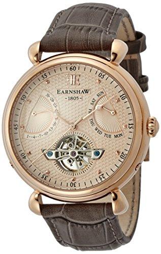 Thomas Earnshaw Herren- Armbanduhr ,ES-8046-03,Braun (Rose Gold dial)