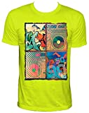 NEON So 90s Party Herren T-Shirt,neongelb,XXL
