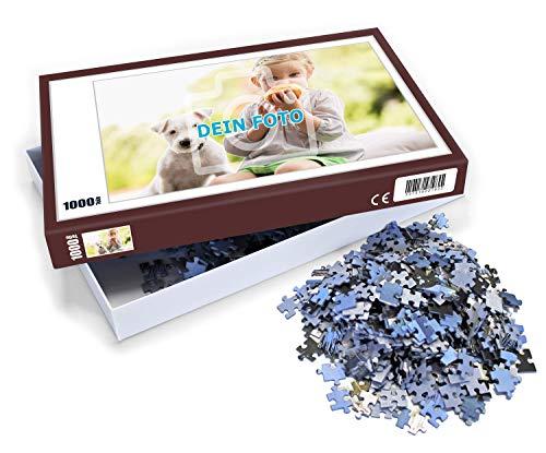 Puzzle mit eigenem Foto gestalten (Individuelles Fotopuzzle inkl. Puzzle-Schachtel, per Digitaldruckverfahren, Maße: 65,5 x 48 cm, ideal als persönliches Fotogeschenk) (1000 Teile) - Puzzle Foto