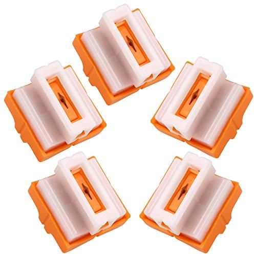 Preisvergleich Produktbild Cobee 5pcs Ersatzklingen Replacement Blade für A4 Schneidemaschine Paper Cutter Tragbar Schneidegerät