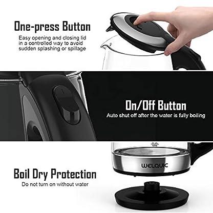 WELQUIC-Elektrischer-Wasserkocher-17L-Glas-Wasserkocher-mit-LED-schnellkochender-2200W-wiederverwendbarer-Filter-drehbarer-Sockel-automatisches-Schlieen