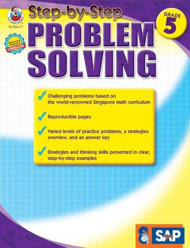 Step-By-Step Problem Solving, Grade 5