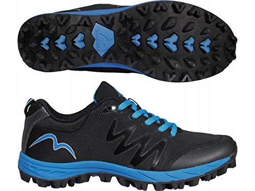 More Mile Cheviot 3 Damen Gelände Trail Running Schuhe Black / Blue