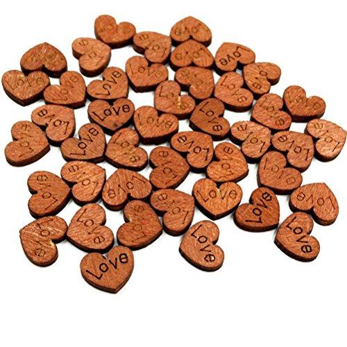 rosenice-cuori-di-legno-100pcs-abbellimenti-scrapbooking-matrimonio-tecniche-retro-a-colori