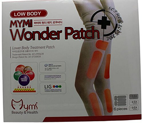 Sempera (TM) 18pcs / pack Mymi Wonder Slim Patch Jambes Bras Minceur perte de poids Patchs Graver Feet Fat Soin Anti-cellulite Sans Retail Box