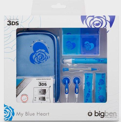"""Nintendo 3DS - Zubehör-Set """"My Heart Blue"""""""