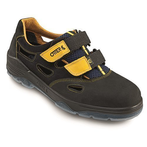 otter-schutz-gmbh-tongs-pour-femme-noir-schwarz-gelb-noir-schwarz-gelb-42-eu