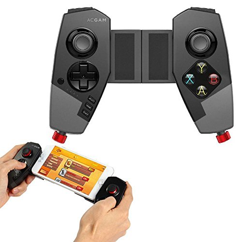 Ipega PG-9055 Red Spider Stretchable Bluetooth PC Gamepad Game Controller für iPhone / iPad / TV Box / Samsung Android & IOS Smartphones (Bluetooth Controller Ipega)