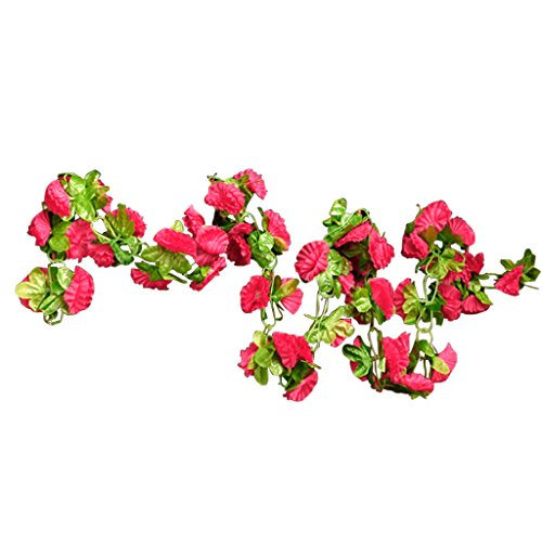 artificial-garland-silk-flower-vine-for-home-wedding-garden-decoration-shocking-pink-by-generic