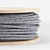 FABRIC CABLE   Grey jumper   Made in Italy   Price per metre   Dowsing and Reynolds