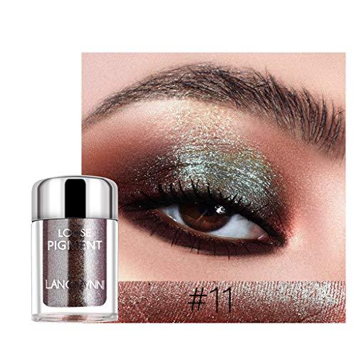 Professional 18 Mischfarbe Kosmetik Glitter Mineral Lidschatten Augen Make-up Schatten Pigmente...