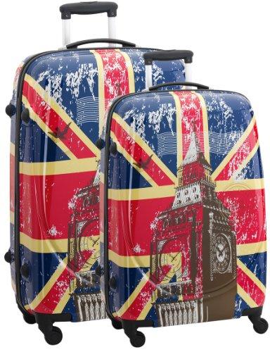 Trolley-Set Reisekoffer-Set Koffer-Set 2-teilig »Union Jack«