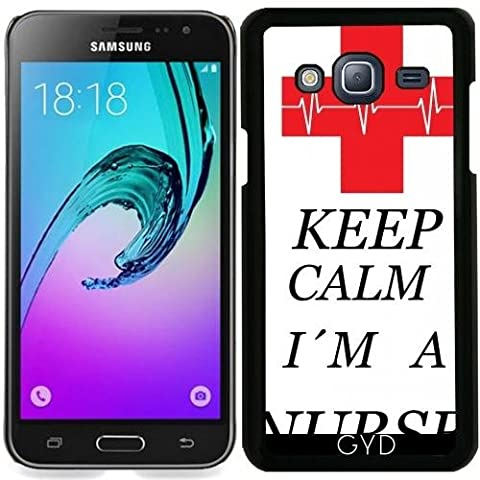 Coque pour Samsung Galaxy J3 2016 (SM-J320) - Infirmière Médecin