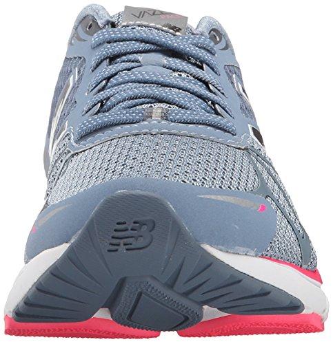 New Balance Women's Vazee Pace Running Shoe Grey/Pink