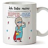 Tasse/Becher/Mug - Ich Liebe Meine Super-Oma - Schöne und lustige Kaffeetasse als Geschenkidee für Großmütter