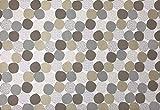 Taupe Balles Papier Tischsets (Set von 100)