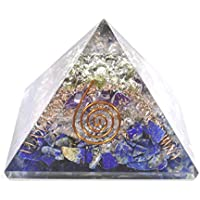 Orgonite - Orgonite Pyramid Lapis Lazuli + Clear Quartz 3-3.5 Inch Chakra & Reiki Healing Aura Cleansing Crystal. preisvergleich bei billige-tabletten.eu