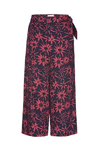 armedangels Damen Culotte aus Tencel® - ILKA Daisy Dust - L Navy-Mineral Red (Navy Daisy)
