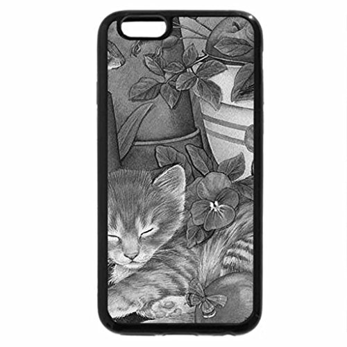 iPhone 6S Plus Case, iPhone 6 Plus Case (Black & White) - KITTENS AND CRITTERS (Critter Natur)