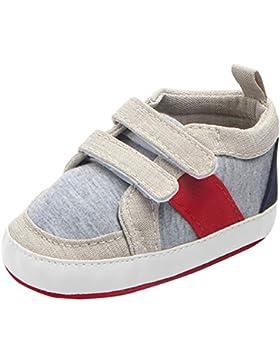 Tongyouyuan Babyschuhe Krabbelschuhe Kleinkind Lauflernschuhe Segeltuch Turnschuhe Wandern Sneaker mit rutschfester...