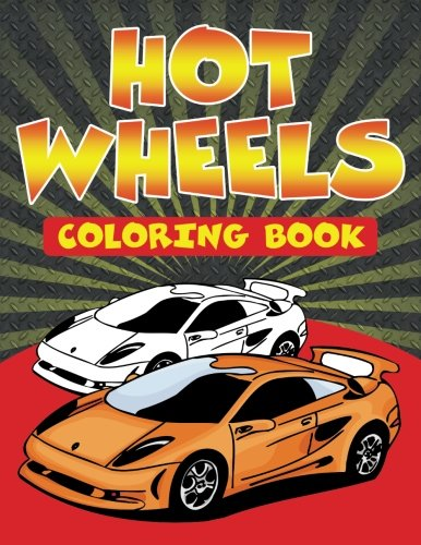 Speedy Kids Hot Wheels Coloring Book