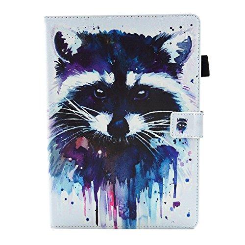 iPad IPad pro 10.5 Custodia per IPAD iPad pro 10.5 inch, inShang Smart Cover case in pelle PU, supporto per tenere L'iPad sollevato, magnetico per sleep e standby Raccoon