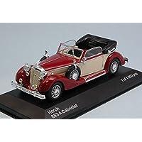 HORCH 853A CONVERTIBLE 1935 DARK RED CREAM 1 43 - Whitebox - Auto d eb28ea9ee9a