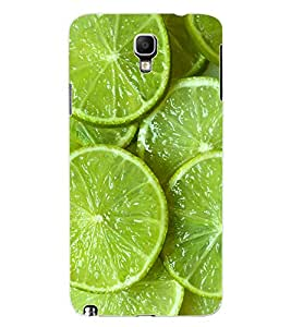 ColourCraft Lemons Design Back Case Cover for SAMSUNG GALAXY NOTE 3 NEO N7505