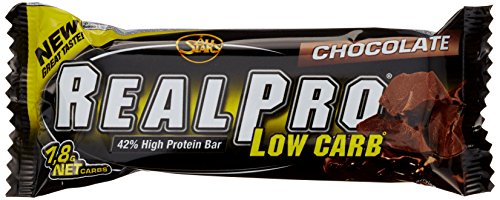All Stars Realpro Low Carb Bar, Chocolate, 24er Pack (24 x 50 g)
