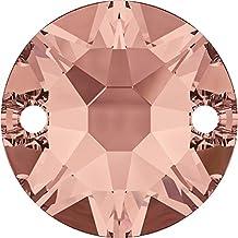 Cristales de Swarovski 5130846 Piedras para Coser 3288 MM 8,0 Blush Rose F,