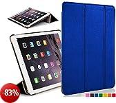 Custodia in pelle con chiusura magnetica avanguardia casi di funzioni per 20,07 cm Apple iPad mini con display Retina - black_p Blu blu iPad Mini