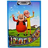 Saamarth Impex Motu Patlu Printed Exam Pads Wooden Pads For All Type Exams,Kids Accessories SI-5574