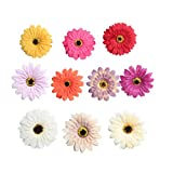 Fenteer 10 Stück Künstliche Seidenblumen Kunstblumen Blüten Wohnaccessoires Blumen Verzeirung für DIY Basteln Handwerk Dekoration - Gemischt