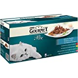 Gourmet Perle Erlesene Streifen (mit Huhn, Rind, Lachs, Kaninchen) 60 x 85 g, 1er Pack (1 x 5.1 kg)