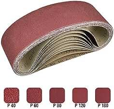 Abrasive Belt Sanding Belt 100x914 Grain P40 P60 P80 P100 P120 P180 240 320 400