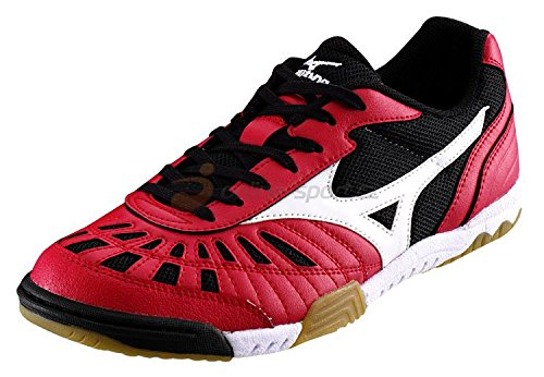 Mizuno , Chaussures pour homme spécial foot en salle Rouge Rosso Rouge - Rosso/Nero/Bianco