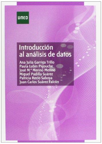 Introducción al análisis de datos (GRADO) por Ana Julia GARRIGA TRILLO