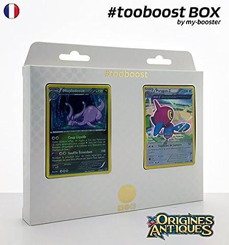 Coffret #tooboost MUPLODOCUS et PORYGON-Z - XY07 - 10 cartes Pokemon francaises
