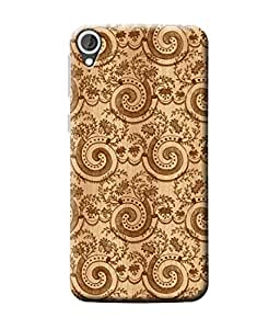 Be Awara Swirl Pattern Designer Mobile Phone Case Back Cover For HTC Desire 828 Dual Sim